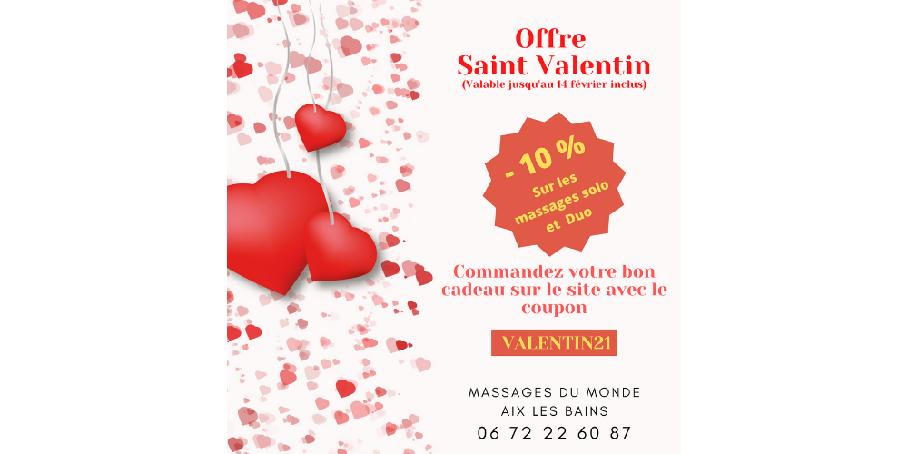 promo saint valentin